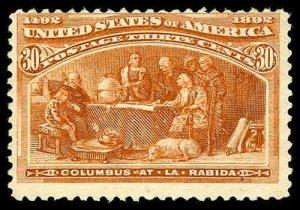 U.S. COLUMBIAN ISSUE 239  Mint (ID # 80619)