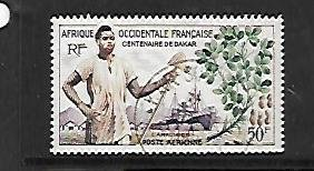 FRENCH WEST AFRICA, C26, USED, WORKER