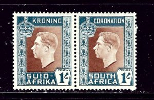 South Africa 78 MNH 1937 from KGVI Coronation set