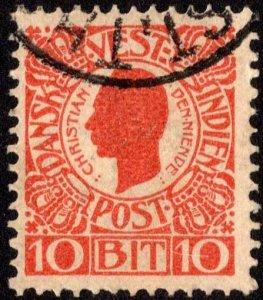 Danish West Indies Scott 32 Used.