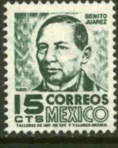 MEXICO 945 15cents 1950 Definitive 3rd Printing wmk 350 MINT, NH. VF.