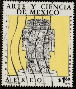 MEXICO C527, Art and Science (Series 6) USED. F-VF. (651)