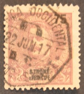 DYNAMITE Stamps: St. Thomas & Prince Islands Scott #51 – USED