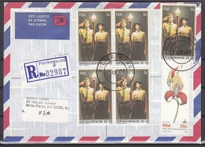South Africa, Scott cat. 557. Voortrkker Movement, (Scouts). First day Cover. ^