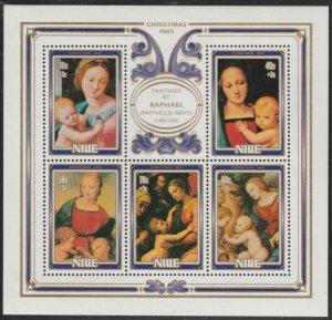 Niue #400 MNH Souvenir Sheet cv $4