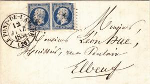 1854, le Pont-de-L'arche to Elbeuf, France, See Remark (28569)