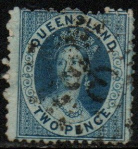 Queensland Sc #40 Used; Mi #33A