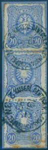 Germany Offices in Turkey 1883 20Pfg V42 Vorlaufer Forerunner Deutsche Pos 93867