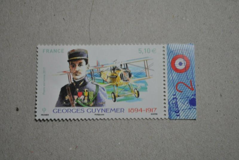 France 2017 - Georges Guynemer WWI  mnh