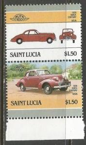 ST. LUCIA 853 MNH CARS Z1251