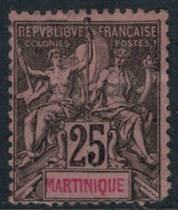 Martinique #43  CV $3.25
