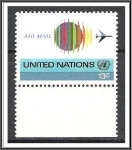UN New York #C19 Airmail MNH