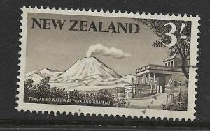 NEW ZEALAND, 349, USED, TONGARIRO NATIONAL PARK CHATEAU