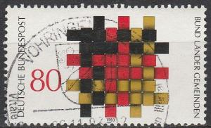 Germany #1408 F-VF Used   (S4439)