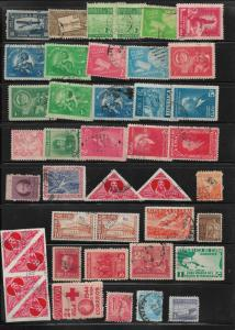 Assortment of early Cuban stamps Lot 4B as pictured