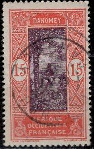 Dahomey 1917: Sc. # 50; O/Used Single Stamp