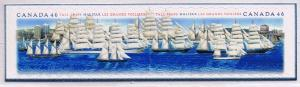 Canada Mint VF-NH #1865a Tall Ships pair