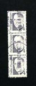 USA #2171  3 used 1986-94 PD .15