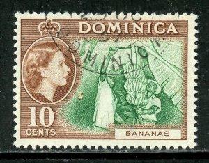 Dominica # 159, Used. CV $ 3.25
