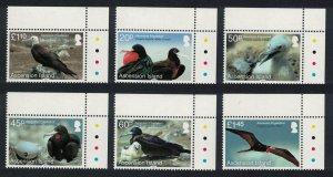 Ascension Frigatebird 'Fregata aquila' 6v Corners 2013 MNH SG#1176-1181