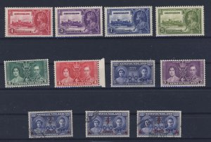 11x Newfoundland Stamps #226-227-228-229-230-231-232-249 MH 250 to 252 = $45.00