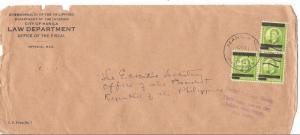 Phillipines Japanese Occupation 1943 to Exec. Secretary President (bai)