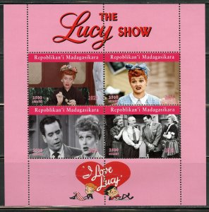 MADAGASCAR 2021 THE LUCY SHOW SHEET MINT NH