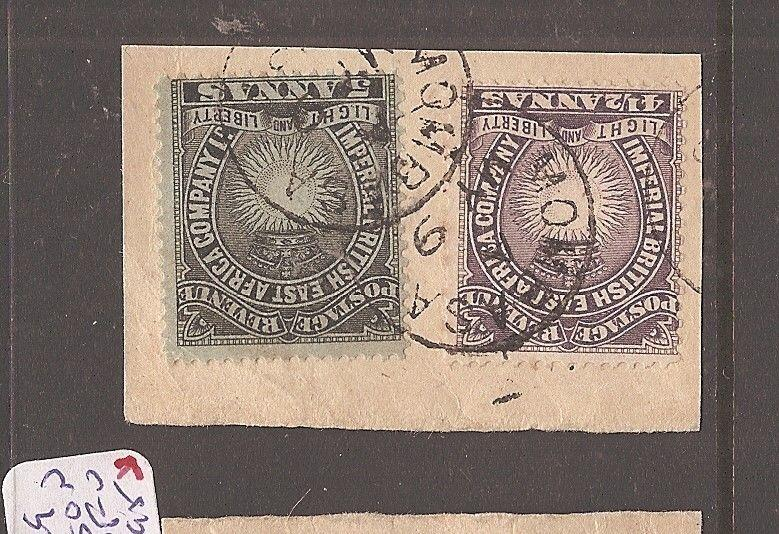 British East Africa SG 11,29 piece SON VFU (12dco)