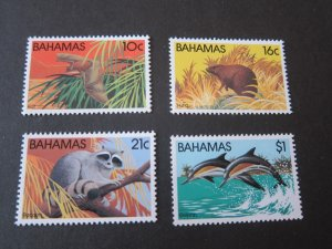 Bahamas 1982 Sc 514-7 animal set MNH