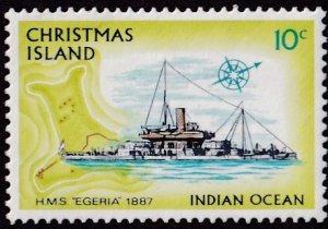 Christmas Island #48 Mint
