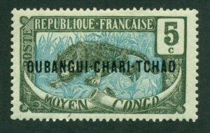 Ubangi-Shari 1915 #4 MH SCV (2018) = $0.70
