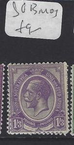 SOUTH AFRICA  (PP1810B)  KGV  1/3    SG  13      MOG