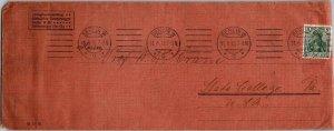 Gebruder Borntraeger publisher Berlin > Prof WR Crane State College PA 1913