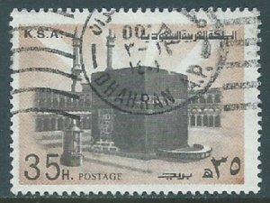 Saudi Arabia, Sc #697, 35h Used