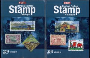 2019 Scott Postage Stamp Catalogue Worldwide Countries S-Z Volume 6 (6A-6B) Set