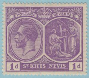 ST KITTS & NEVIS 39 SG39 MINT  HINGED OG * NO FAULTS EXTRA FINE !