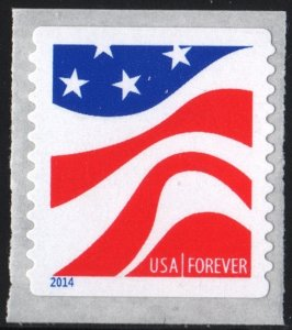 SC#4897 Forever Red, White and Blue Coil Single (2014) SA