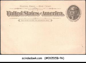 USA - 1c POST CARD - MINT