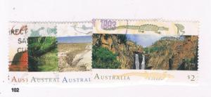 Australia 1311-14 Set Used Landscapes (A0022)
