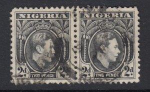 Nigeria, Sc 56 (SG 52), used pair