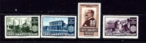 Turkey 1047-50 MNH 1951 set