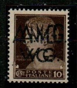 Italy Scott 1LN7A Mint hinged double ovpt.