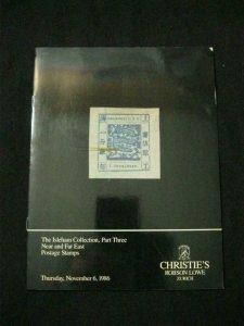CHRISTIE'S RL AUCTION CATALOGUE 1986 ISLEHAM COLLECTION PART 3 NEAR & FAR EAST