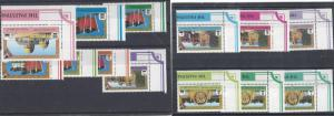 Palestinian Authority, 14-26 (13v), Various Designs Singles, MNH