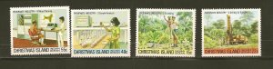Christmas Island 95-98 Phosphate Mining MNH
