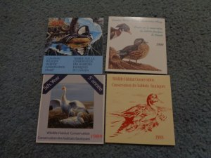 CANADA HABITAT FULL BOOKLET LOT, MNH, OG