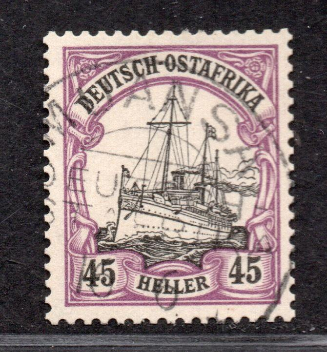 **German East Africa, SC# 28 Used VF/XF Signed Paulick BPP, CV $35.00