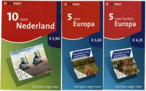 NETHERLANDS #1212-1214 Booklet Pane Postage Stamp Collection 2006 Mint NH