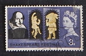 SHAKESPEARE FESTIVAL, 3 D, Great Britain (1871-T)