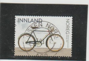 Norway  Scott#  1878  Used  (2019 Diamond Cross-Country Bicycle)
